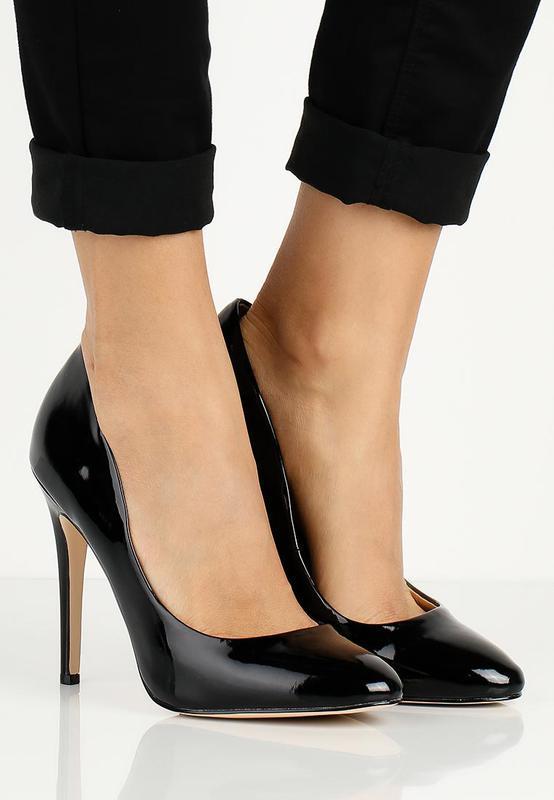 Стильные лаковые туфли lost ink из англии - Фото 2