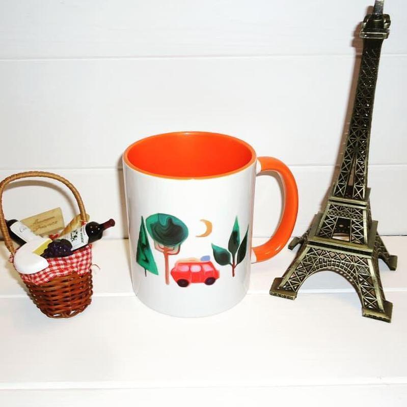 Чашка керамическая - Фото 2