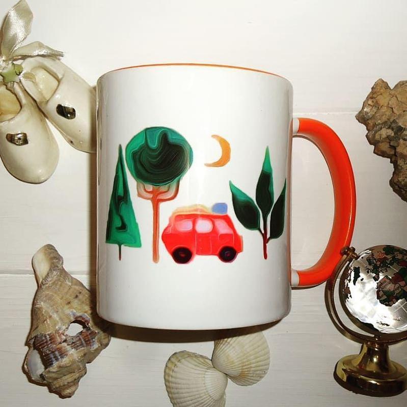 Чашка керамическая - Фото 4