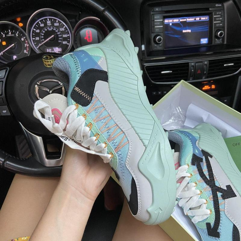Off-white odsy - 1000 turquoise. - Фото 3