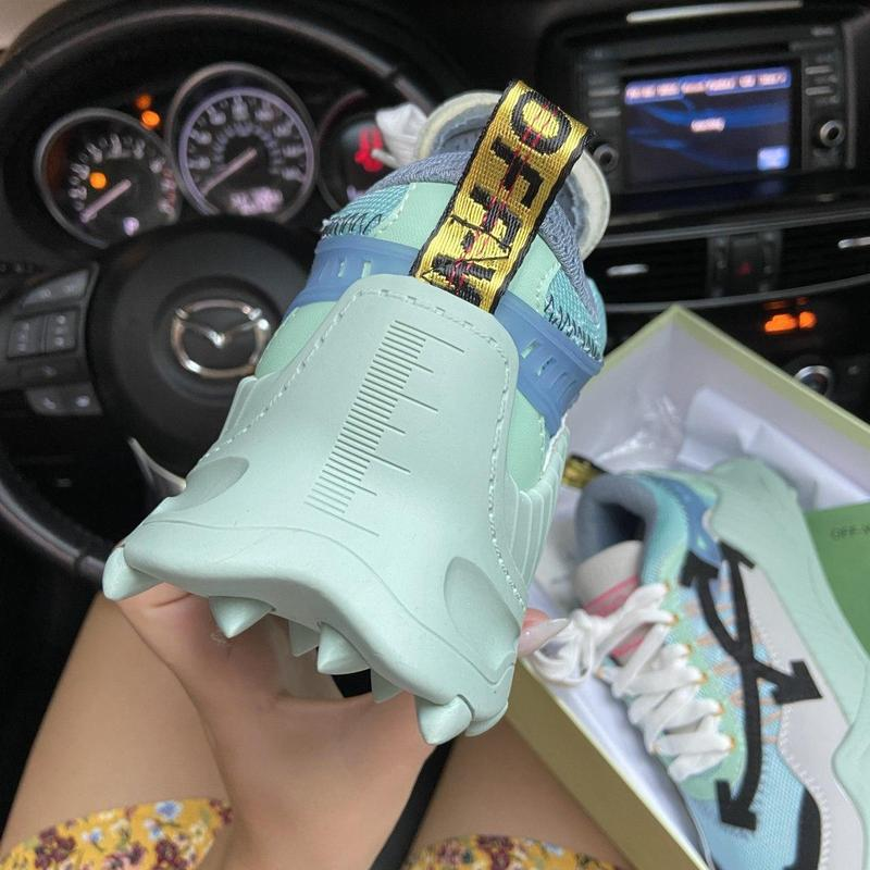 Off-white odsy - 1000 turquoise. - Фото 5