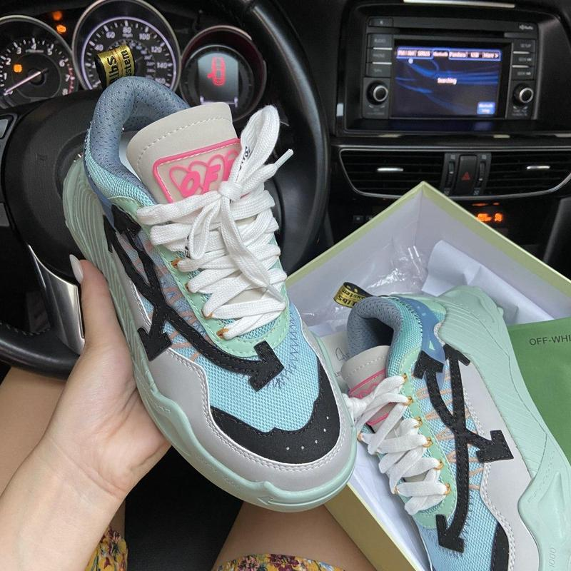 Off-white odsy - 1000 turquoise. - Фото 8