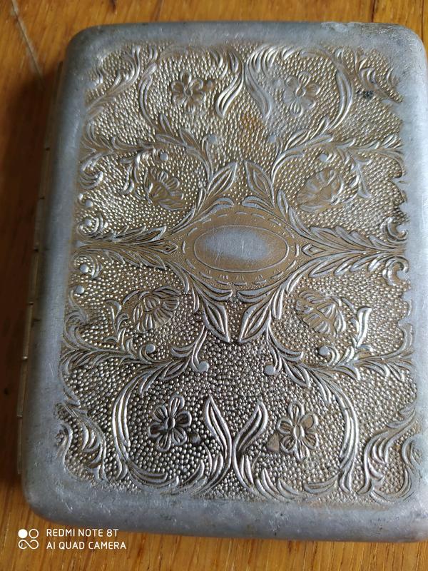 Портсигар алюминий