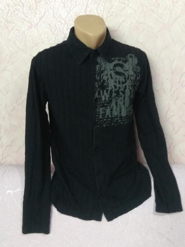 Рубашка кофта трикотаж хлопок new yorker
