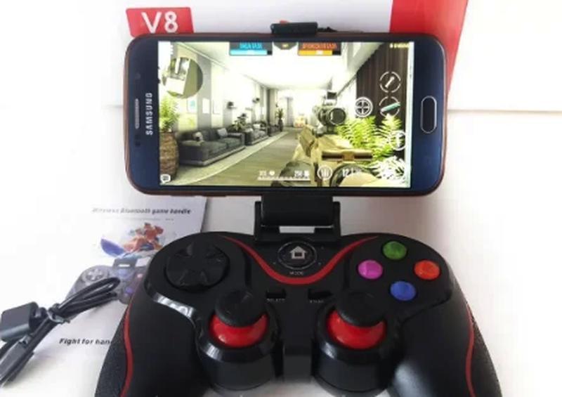 Bluetooth беспроводной геймпад, джойстик V8, игровой контроллер,