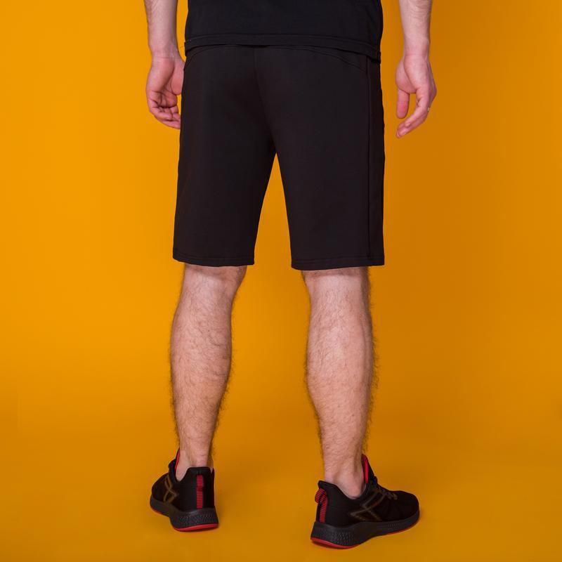 Стильные черные мужские шорты высокого качества - Фото 8