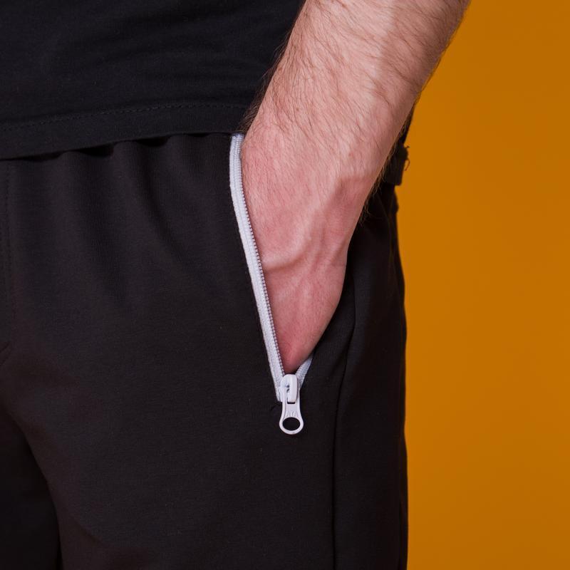 Стильные черные мужские шорты высокого качества - Фото 10