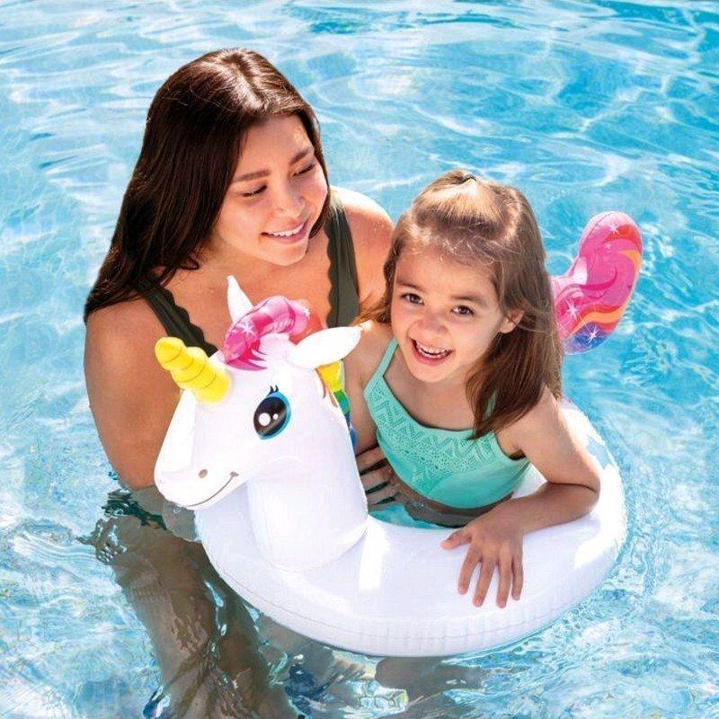 Детский надувной круг для плавания