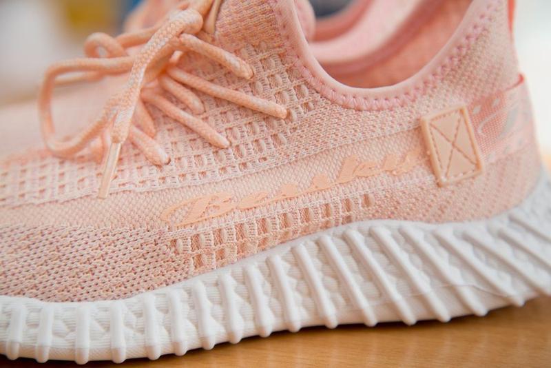 Кроссовки на девочку, кросы, цвет розовый с белым р. 32-37 - Фото 8