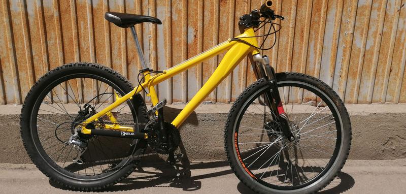 Алюминевый велосипед