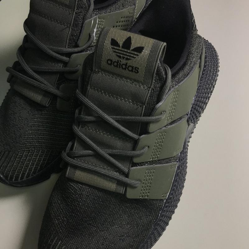 Новинка! мужские стильные кроссовки adidas prophere olive black.