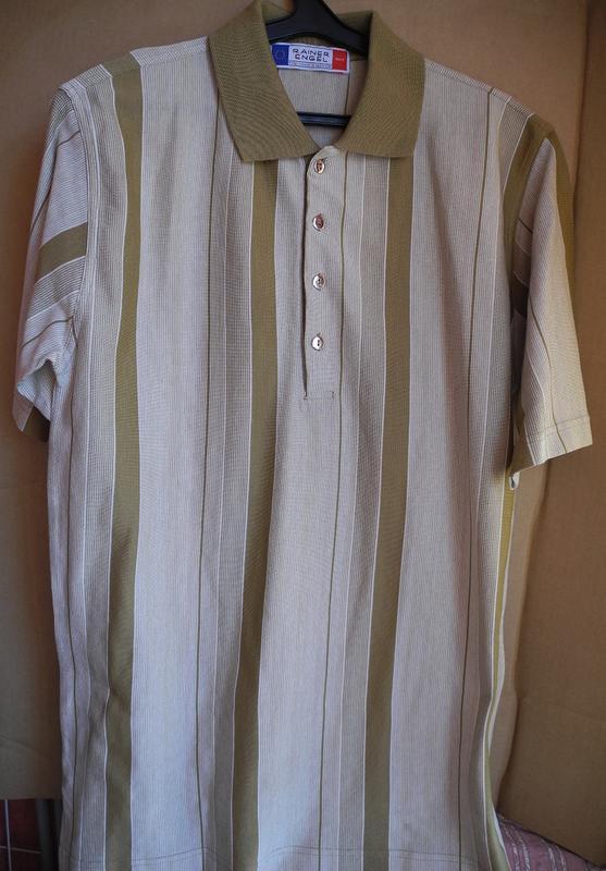 Рубашка с коротким рукавом (поло), р. 52. рост 182-186 см. новая