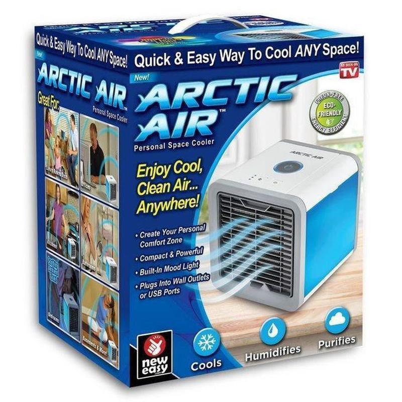 Мобильный кондиционер 4в1 Arctic Air Rovus с подсветкой, - Фото 7