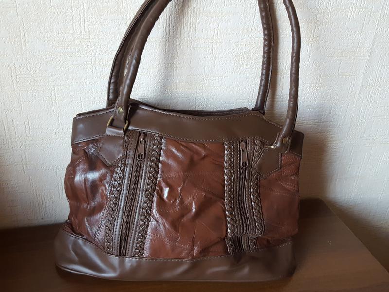 Коричневая женская сумка
