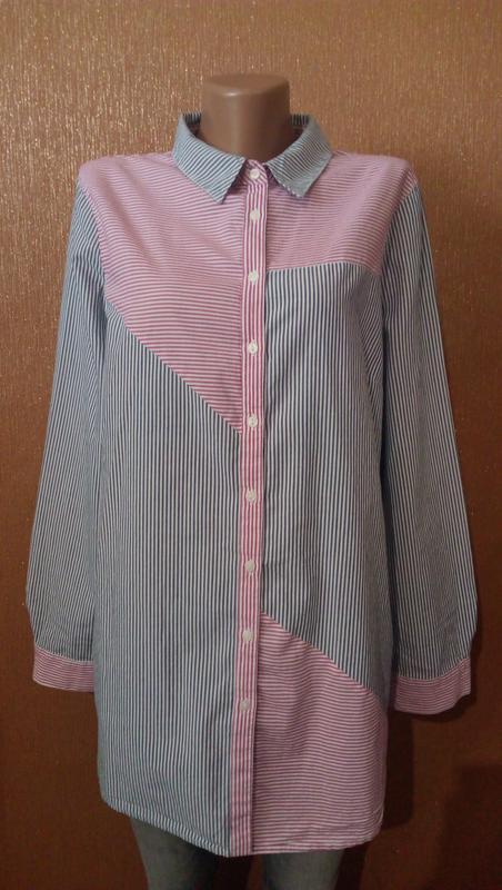 Рубашка в полоску размер 16 tu