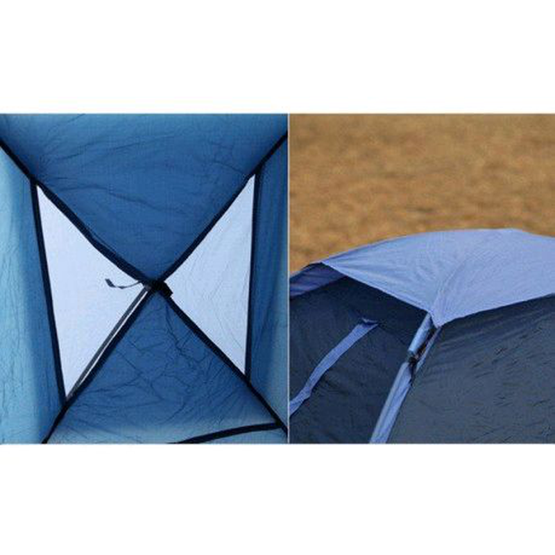 Палатка трехместная Blue Monodome 3 King Camp KT-3010-BL - Фото 2