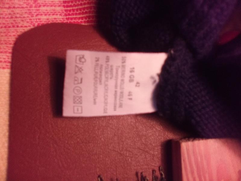 Свитер джемпер реглан женский lecomte мериносовая шерсть - Фото 4