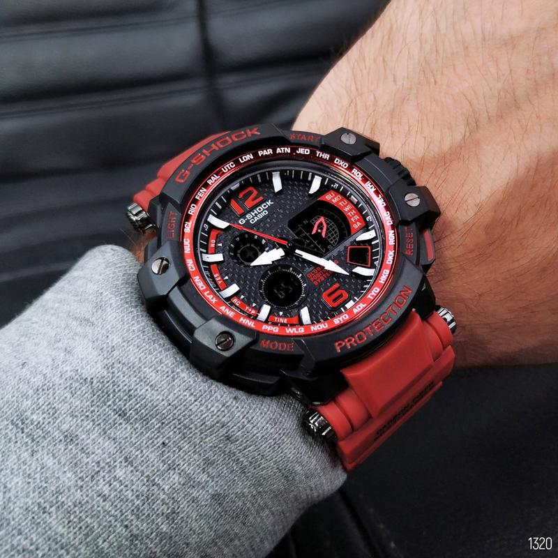 Часы наручные Casio G-Shock GPW-1000.Купить спортивные касио джи - Фото 2