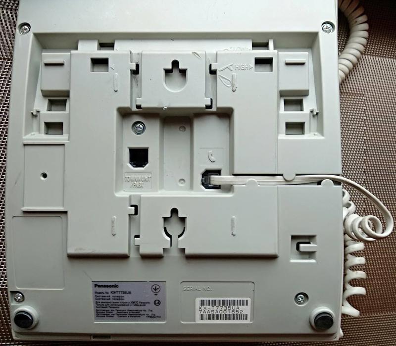 Panasonic KX-T7735UA, системный телефон. не рабочий - Фото 2