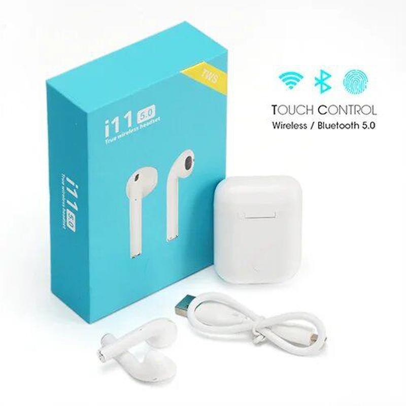 Беспроводные наушники Bluetooth i11 TWS (сенсорные) - Фото 7