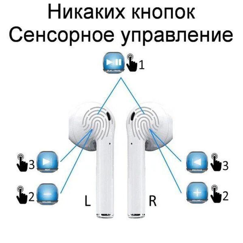 Беспроводные наушники Bluetooth i11 TWS (сенсорные) - Фото 8