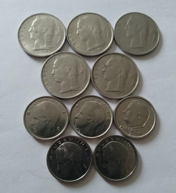 Монети Бельгії