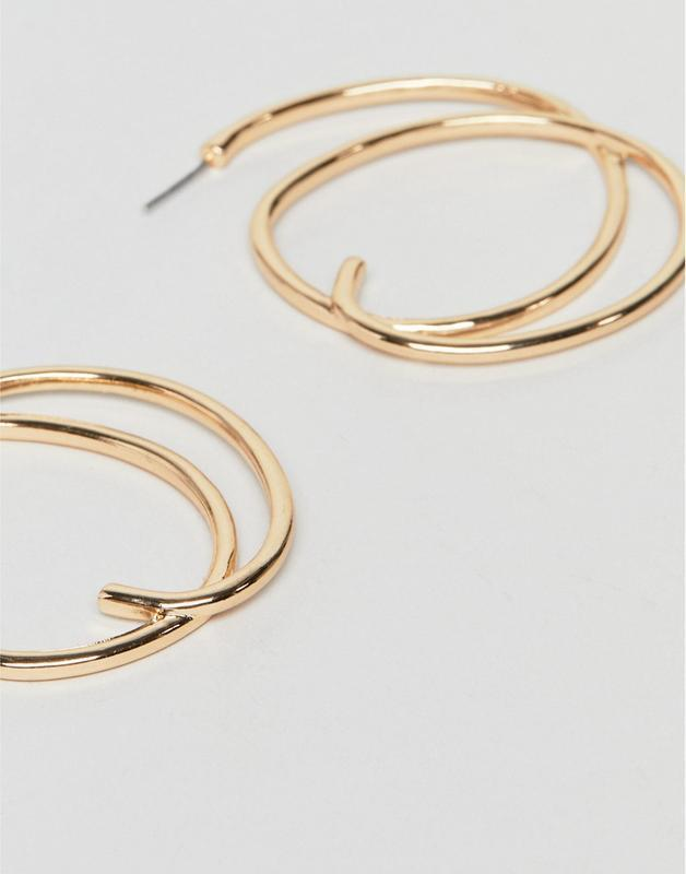 Серьги-кольца liars & lovers asos - Фото 2