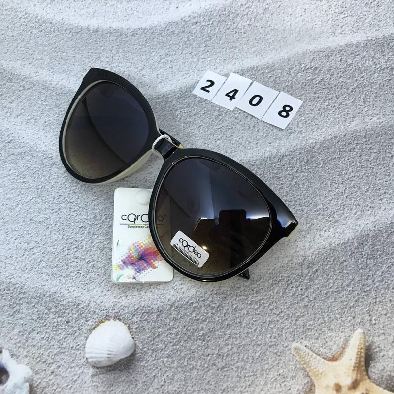 Очень стильные коричневые очки  к. 2408 - Фото 2