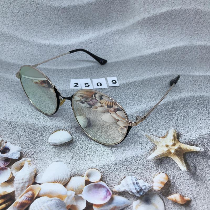 Зеркальные очки, цвет пудра к. 2509 - Фото 2