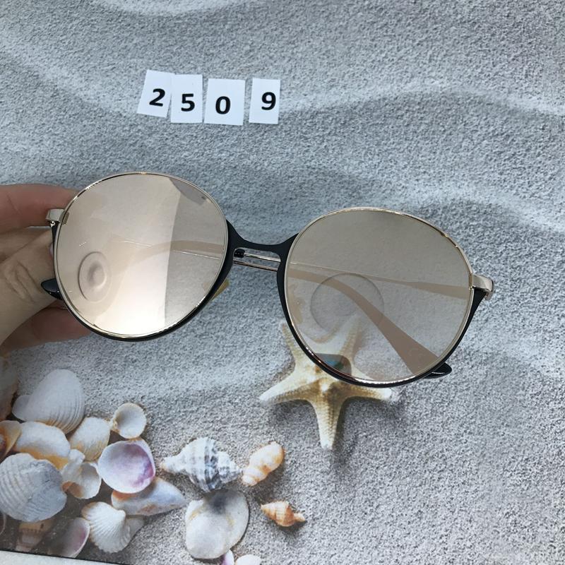 Зеркальные очки, цвет пудра к. 2509 - Фото 4