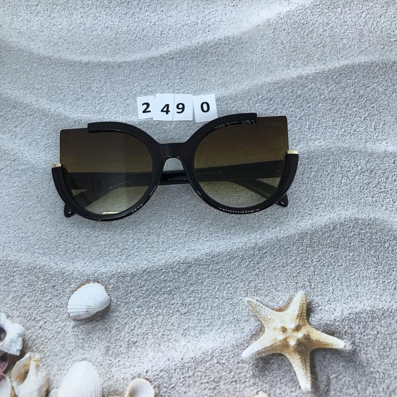 Стильные коричневые очки к. 2490