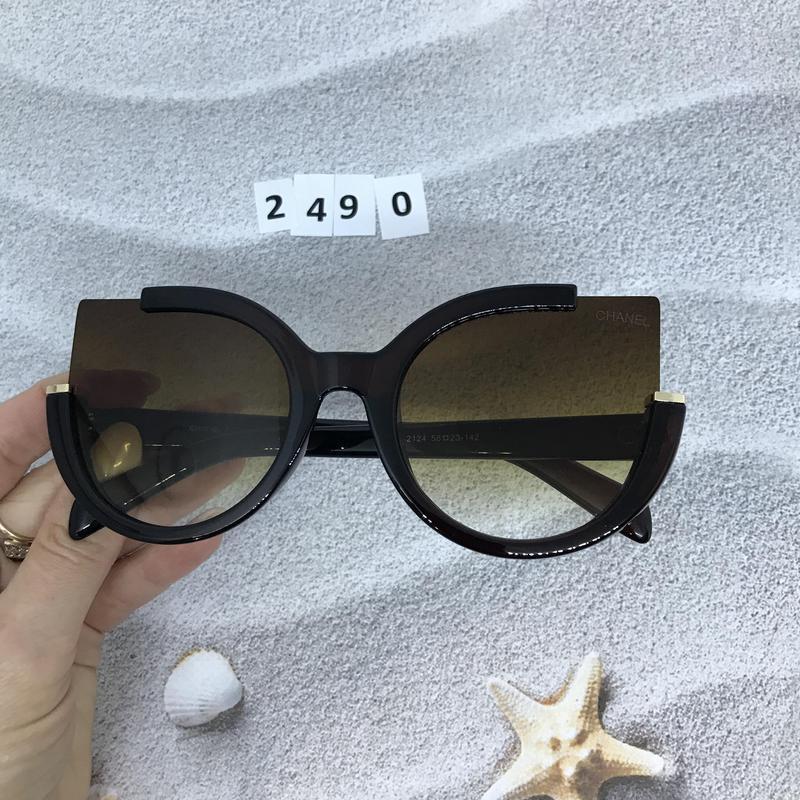 Стильные коричневые очки к. 2490 - Фото 3