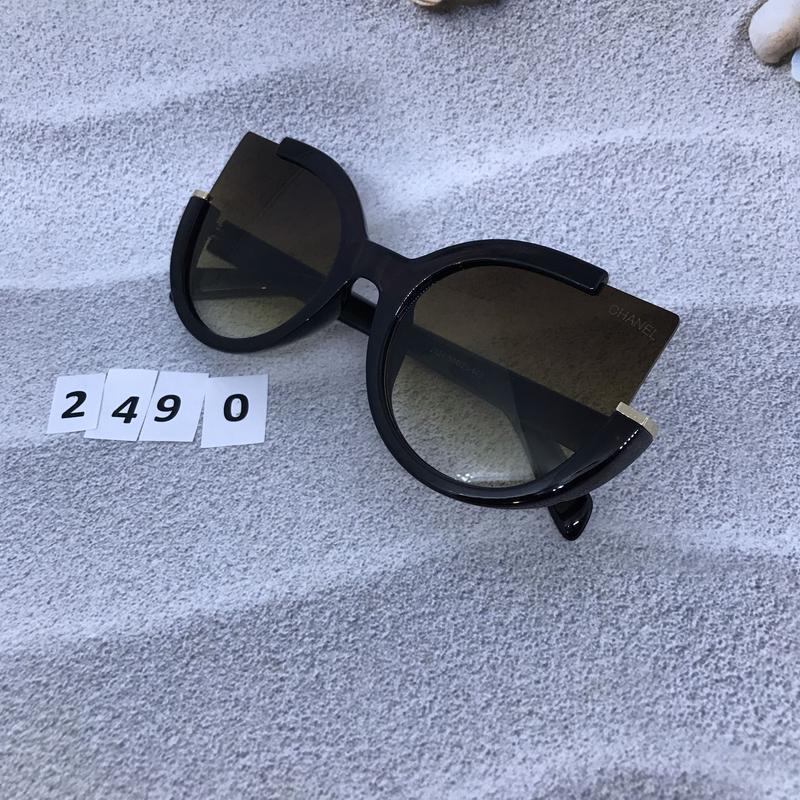 Стильные коричневые очки к. 2490 - Фото 4