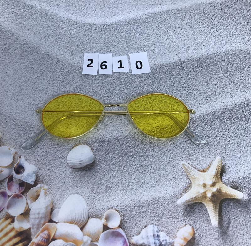 Модные очки с желтыми линзами к. 2610