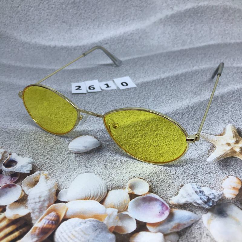 Модные очки с желтыми линзами к. 2610 - Фото 2