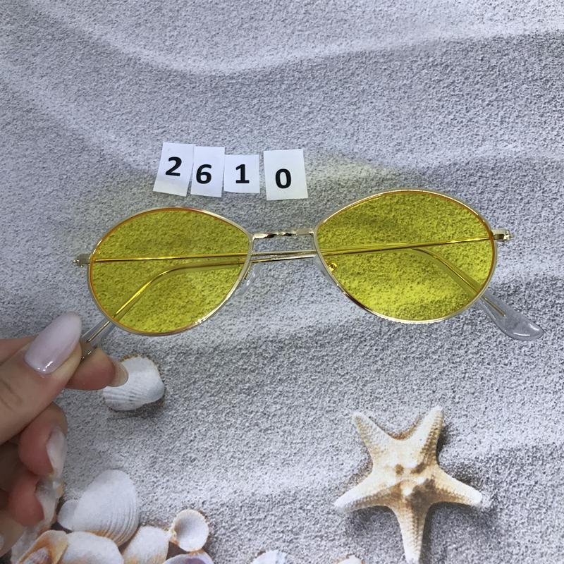 Модные очки с желтыми линзами к. 2610 - Фото 5