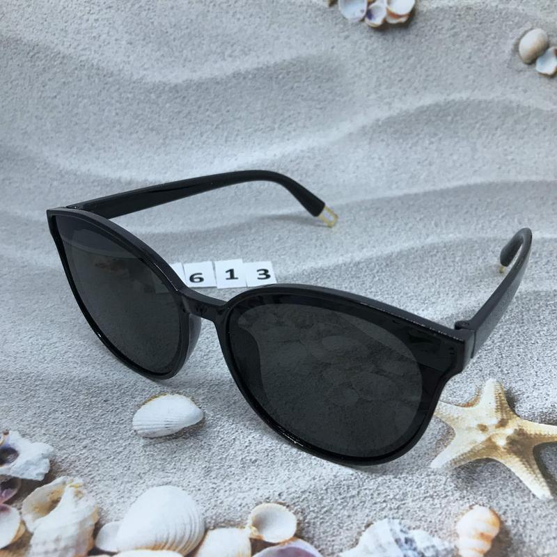 Модные черные очки к. 2613 - Фото 2