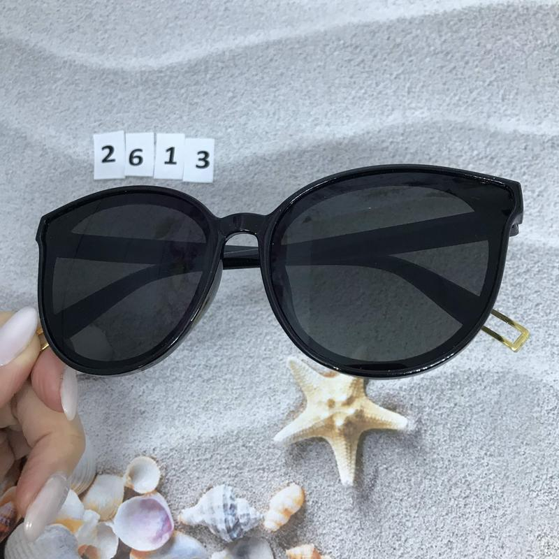 Модные черные очки к. 2613 - Фото 3