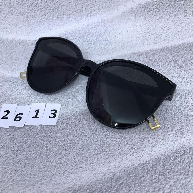 Модные черные очки к. 2613 - Фото 4