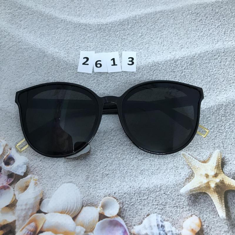 Модные черные очки к. 2613 - Фото 5