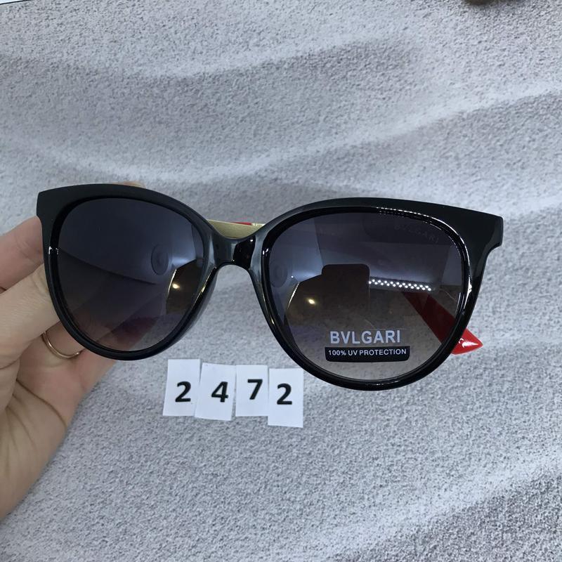 Модные черные очки з красними дужками к. 2472 - Фото 4