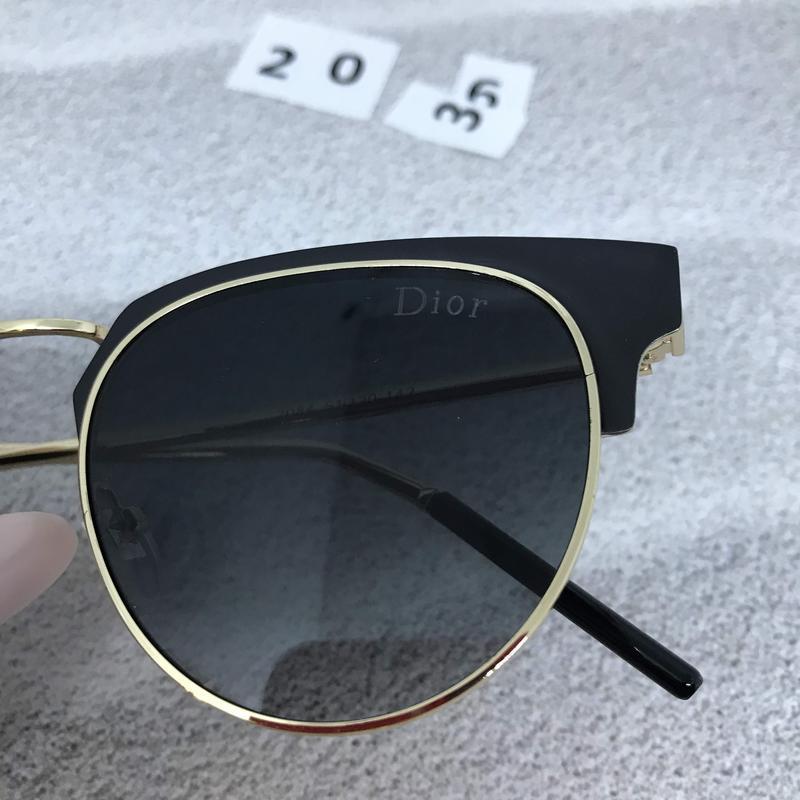 Солнцезащитные очки  цвет черный  к. 2036 - Фото 2
