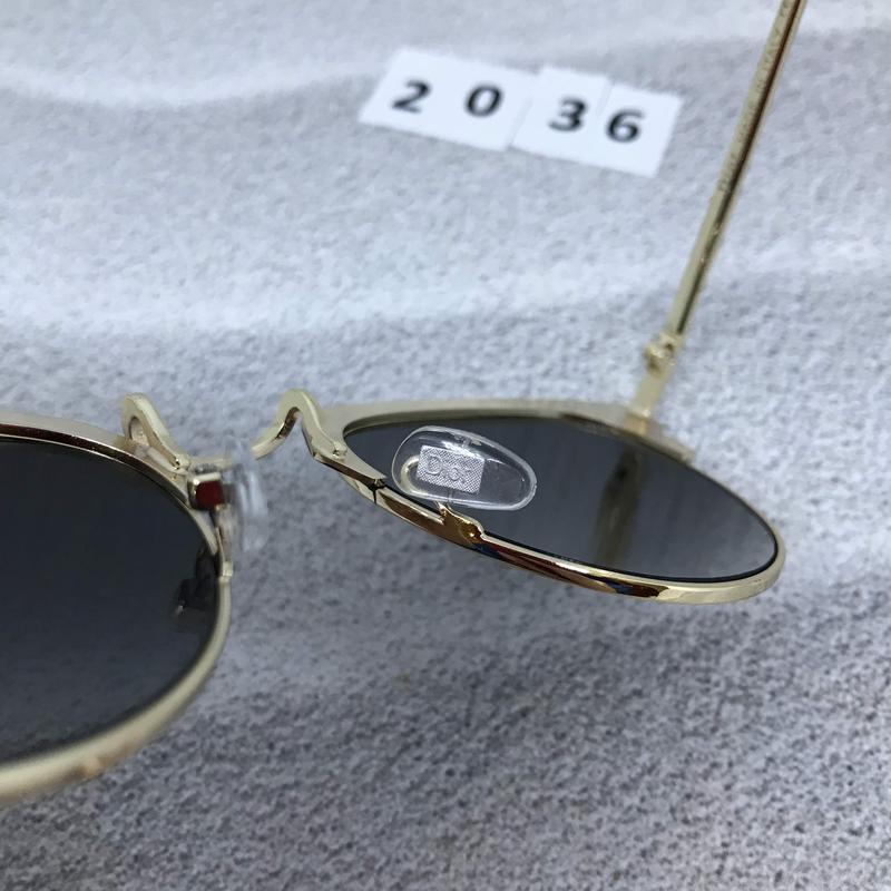 Солнцезащитные очки  цвет черный  к. 2036 - Фото 3