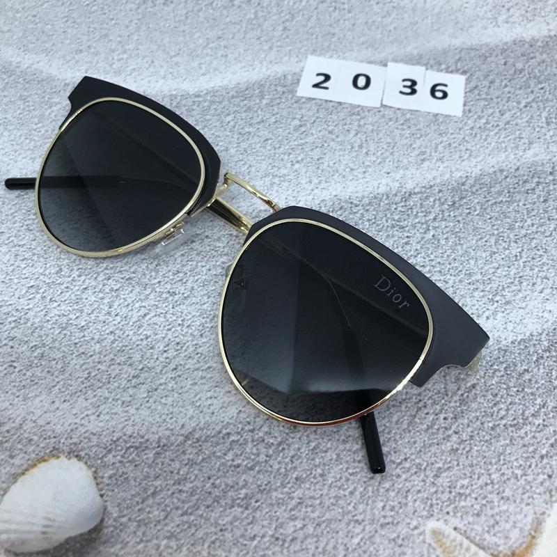 Солнцезащитные очки  цвет черный  к. 2036 - Фото 4