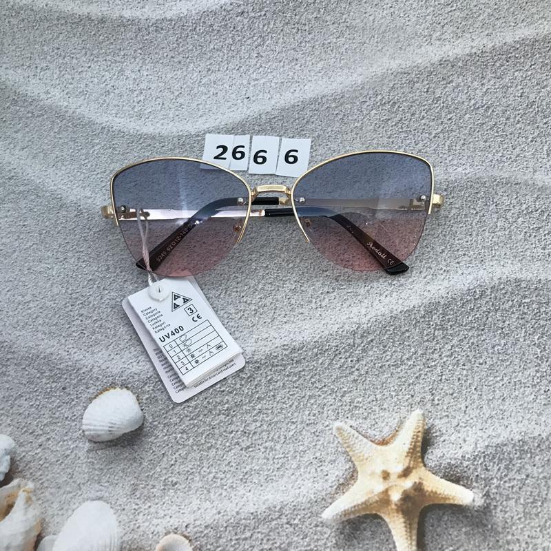 Трендовые солнцезащитные очки к. 2666 - Фото 2