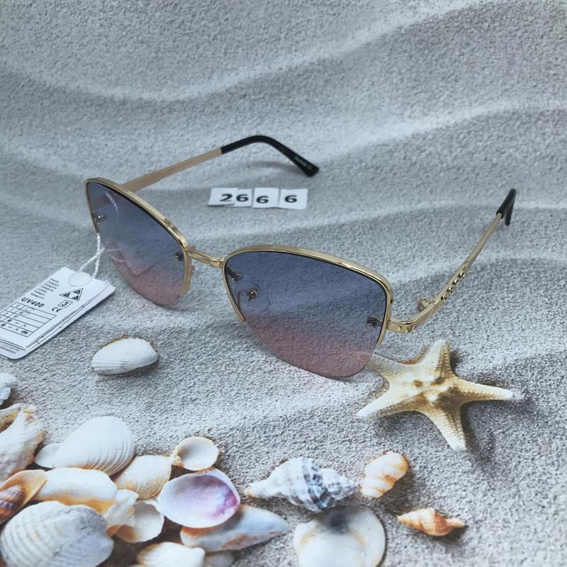 Трендовые солнцезащитные очки к. 2666 - Фото 3