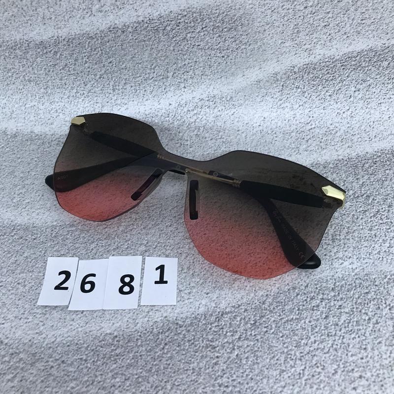 Стильные солнцезащитные очки к. 2681 - Фото 2