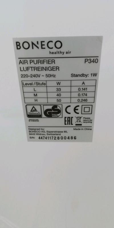 Продаю, очиститель воздуха с функцией ионизации. Boneco P340 - Фото 5