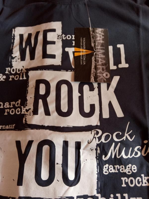 Футболка мужская rock - Фото 3