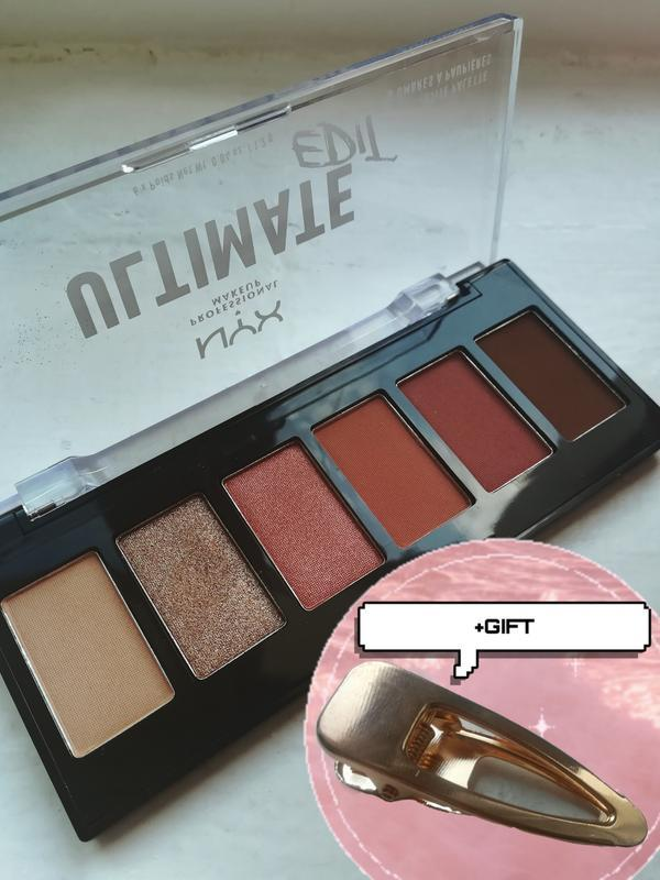 Палетка теней для век nyx professional makeup ultimate edit wa...